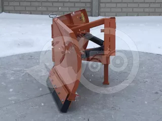 Snow plow 150cm, vario, independent side by side adjustable, for front hitch and front quick hitch, Komondor SHE-150/F (1)