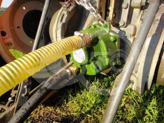 Water pump, PTO driven, for Japanese compact tractors (1)