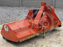 Flail mower 145 cm, with reinforced gearbox, for Japanese compact tractors, EFGC145, SPECIAL OFFER!
