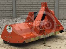 Flail mower 125cm, with reinforced gearbox, for Japanese compact tractors, EFGC125, SPECIAL OFFER